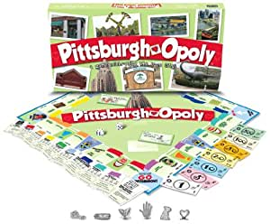 late for the sky pittsburgh opoly toys games. Black Bedroom Furniture Sets. Home Design Ideas