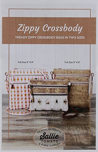 Sallie Tomato LST106 Zippy Crossbody Bags Ptrn (Crossbody Bag Pattern)