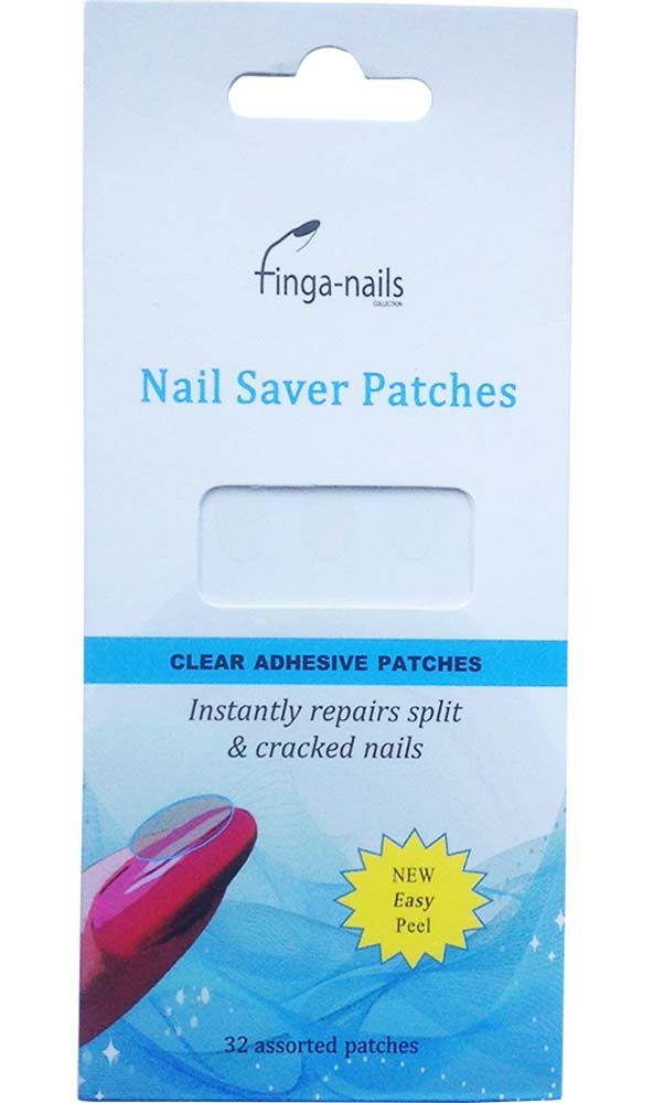 1 x 32 Nail Save Patches ~ Temporary protection for split & cracked ...