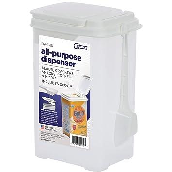 """Buddeez 3.75qt Bag-in harina dispensador w/scoop-10 """"X6"""