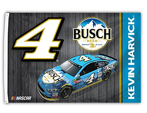 Kevin Harvick 2018 CAR Design #4 3x5 Flag w/grommets Outdoor