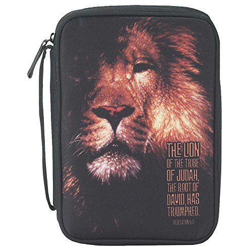 Bible Cover - The Lion of Judah - Large by Dicksons