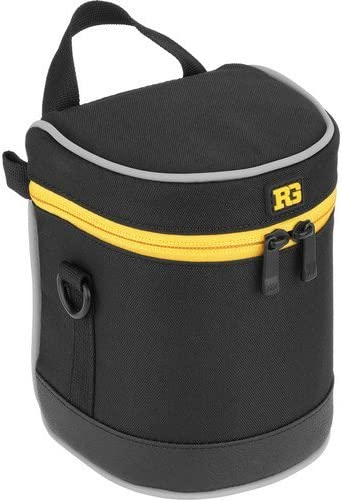 Ruggard Lens Case 10.5 x 4.5 Black