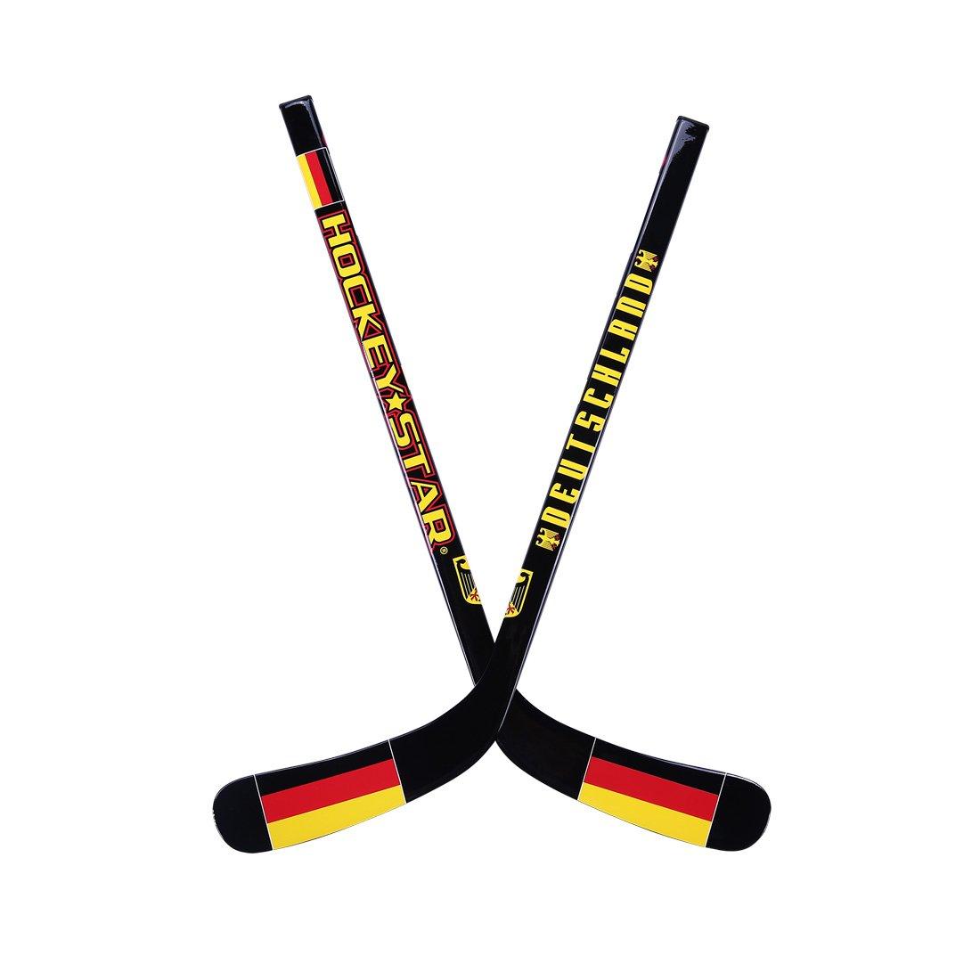 Mini Ice Hockey Stick Hockey Star Kid 's Toys – カーボンファイバーコンポジション高強度Ways for Children 24インチ B075QJ5T8Pblack