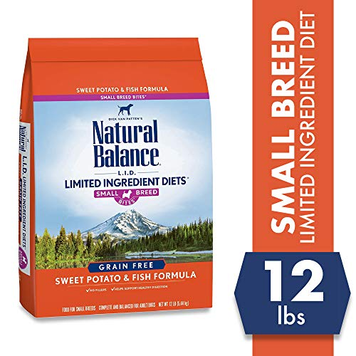 Natural Balance Puppy Formula L.I.D. Limited Ingredient Diets Dry Dog Food, Potato & Fish Formula