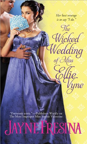 book cover of The Wicked Wedding of Miss Ellie Vyne
