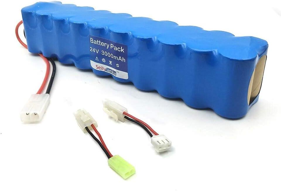 Seilylanka 3000mAh para Rowenta 24V Ni MH Batería Paquete CD Aspiradora Besen Air Force Extreme RH8770 RH8771WS RH877501 RH8779 RH877901