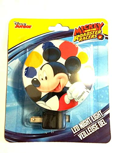 (Mickey Mouse LED Night Light On/Off)