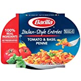 Barilla Mezze Penne with Tomato and Basil Sauce, 9 Ounce - 6 per case.