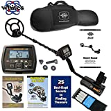 """Whites MX5 Metal Detector with 9"""" Waterproof Search Coil and Padded Carry Bag – 800-0334"""