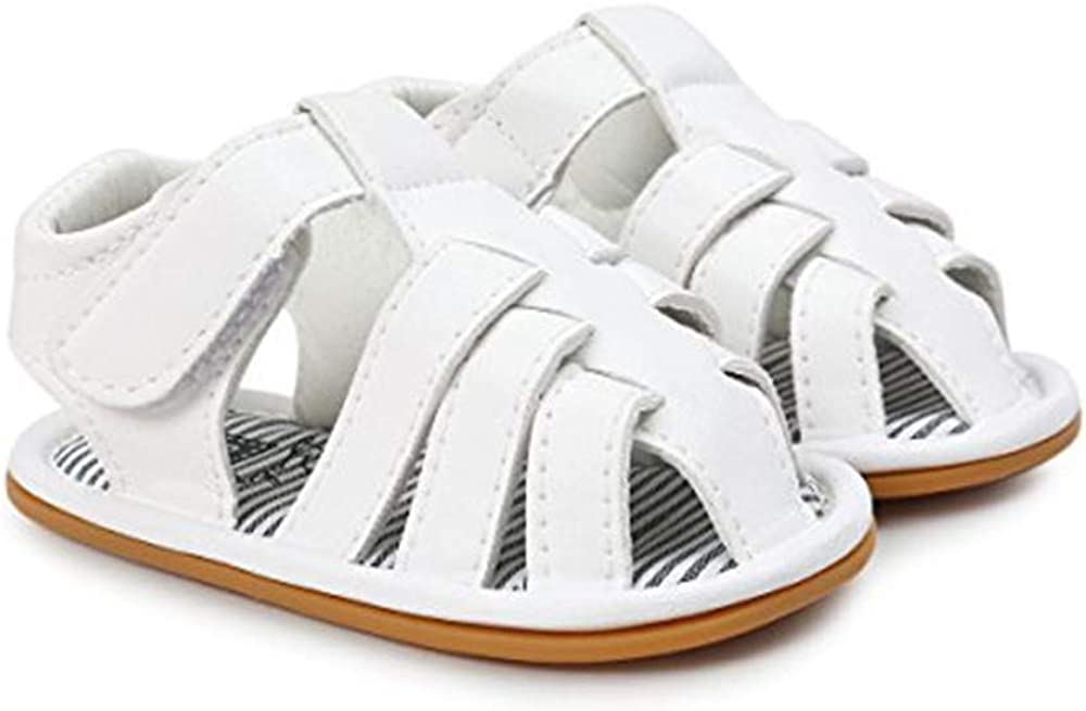 Save Beautiful Summer Baby Sandals Infant Boys Soft Sole Non-Slip First Walkers Shoes