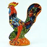 Talavera Rooster 14″ Hand Painted Ceramic Garden Decor