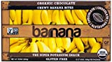 Barnana Organic Chewy Banana Bites, Chocolate, 3.5 Ounce, 12 Count