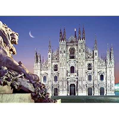 Clementoni Puzzle 30288 Duomo Milan 500 Pezzi High Quality Collection