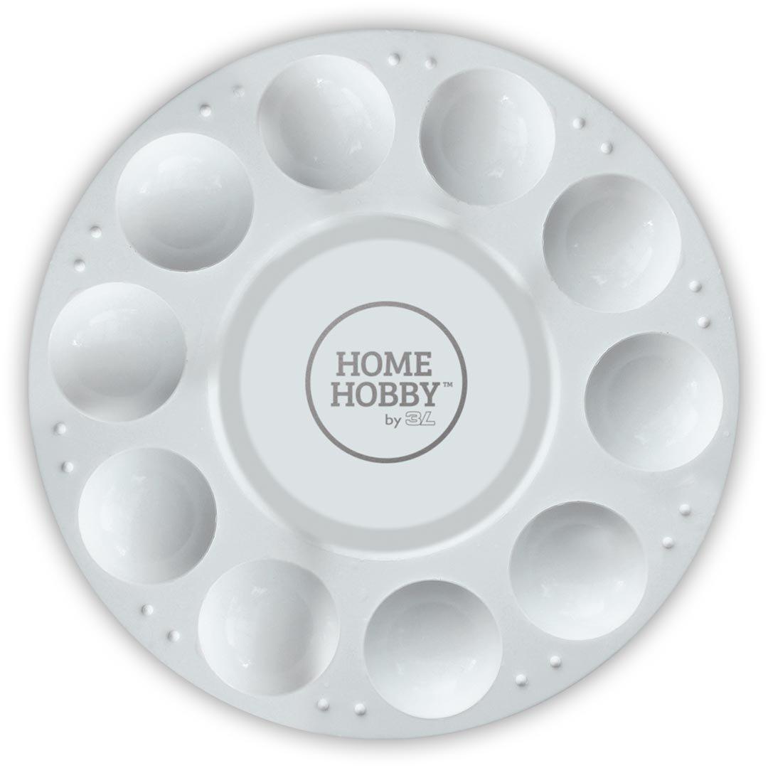 HomeHobby 14012 10 Wells Paint Palette 6.5