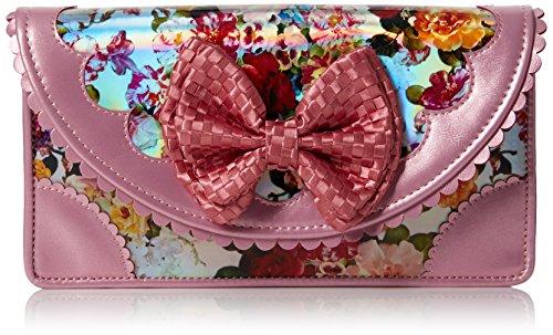 Irregular Choice Meadow Mist Clutch - Bolsa Mujer Rosa (Pink)