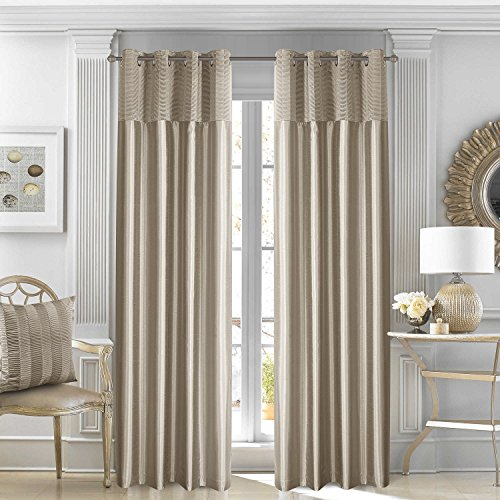 GYROHOME Thermal Insulated Blackout Curtain Solid Color Modern Simple Style Engery Saving Noise Reducing No Formaldehyde,Sold in Pair