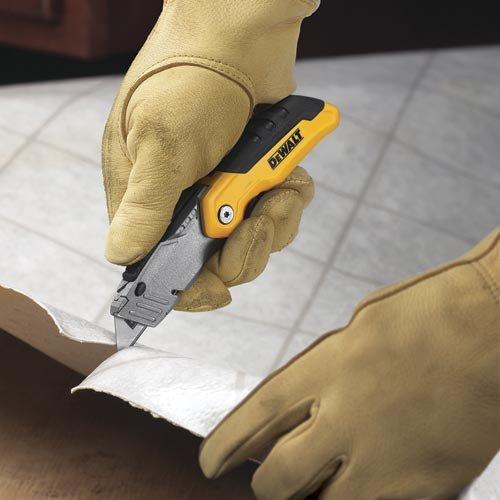 076174100358 - DEWALT DWHT10035L Folding Retractable Utility Knife carousel main 4