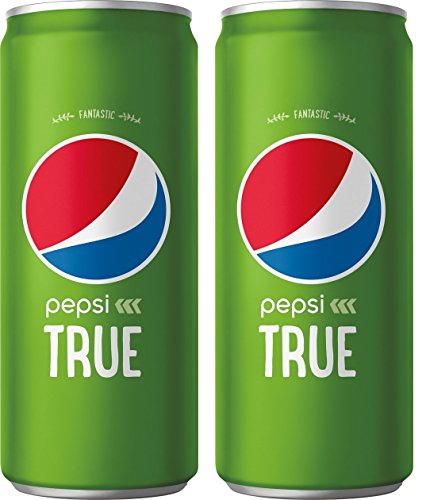 Pepsi True, 10 KdYVJT Fluid Ounce Cans, 2Pack of 24