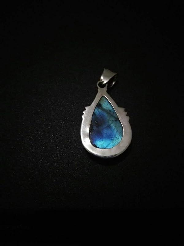 PD684959 925 Sterling Silver Labradorite Pendant 1 78