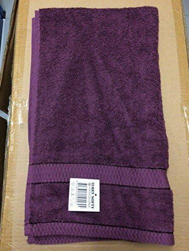 SDS eggelston 100% Algodón Peinado Egipcio 500 GSM algodón toalla de baño toallas de lino hojas, algodón, Morado, 140x85: Amazon.es: Hogar