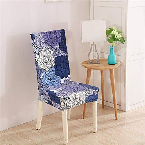 GBTRICON Short Dining Wrinkle Resistant Chair Covers Stretch Spandex Chair Protector Slipcovers for Wedding Banquet Party