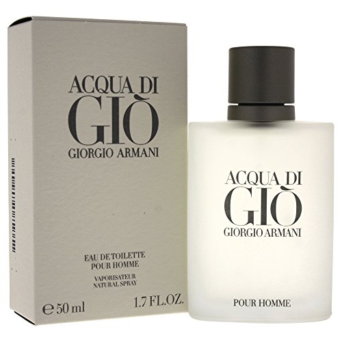 Di Gio Giorgio Armani Men For Acqua By - Giorgio Armani Acqua Di Gio Eau De Toilette Spray for Men, 1.7 Ounce
