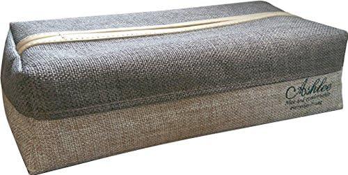 YARD インテリア/ティッシュケース ブラウン 13×26.5×7.5cm アシュリー ティッシュボックス