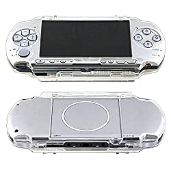 Commonbyte Clear Crystal Snap-on Hard Case Cover For Sony Psp Slim 20003000