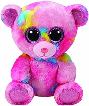 Ty Franky, Bär Bunt 15cm Peluche Oso, Color Rosa (United Labels Ibérica 36899TY