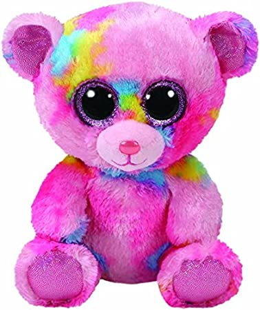 Amazon Com Ty Beanie Boo 36899 Franky The Bear 15cm Toys Games