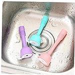 Amoyer-Cucina-in-Silicone-del-Rubinetto-di-Acqua-per-Il-Risparmio-Filtro-Doccia-Acqua-rotativo-Spray-Filtro-Acqua-del-Rubinetto-per-la-Cucina-Accessori-per-Il-Bagno-Viola