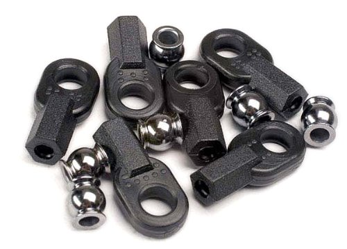Traxxas 2742 Rod Ends and Ball Connector, Set of ()