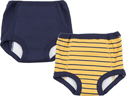 Gerber Boys' 2-Pack Terry Lined Training Pant, Multisport, 2T/3T