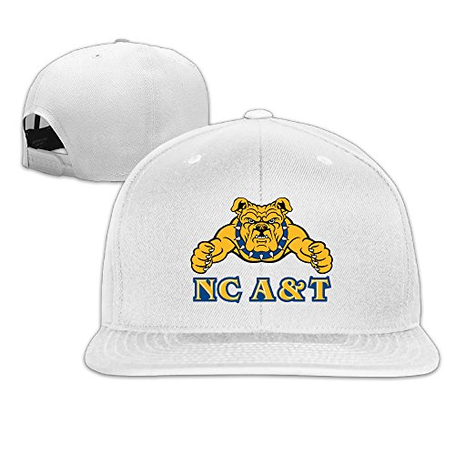 WG Custom Unique Unisex NC North Carolina A&T State University Aggies Baseball CapHat White (Nc Crossbow)