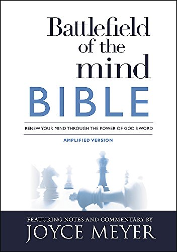Battlefield of the Mind Bible: Renew Your Mind Through the Power of God's Word (Battlefield Of The Mind Small Group Study)