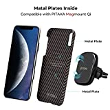 PITAKA Slim Case Compatible with iPhone Xs Max