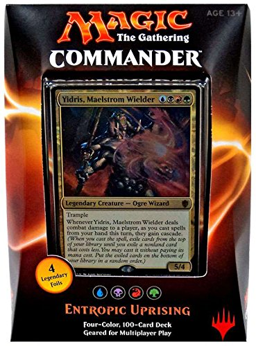 Magic the Gathering Commander 2016 Deck - Entropic Uprising (UBRG) by magic