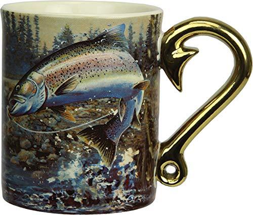 River's Edge Products 3D 15 oz. Mug - Rainbow Trout