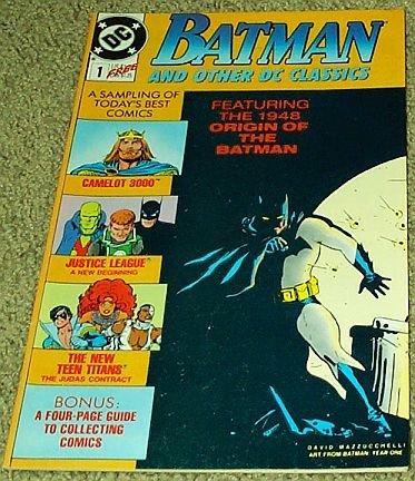 Batman And Other DC Classics No. 1 (Featuring the 1948 Origin of the Batman)