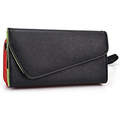NuVur ™ All in One Universal Wallet Clutch Smartphone Case Fits LG F-240S Optimus G Pro, F310L Gx, G Flex2, G Pro Lite, G3, G4 Beat from NuVur