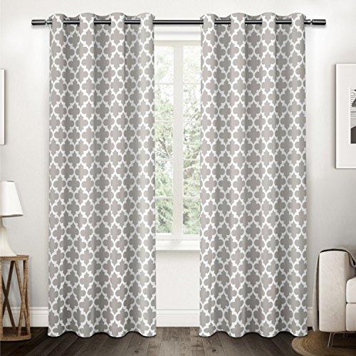 "Amalgamated Textiles Neptune Window Curtain Pair, 54"" x 108"""