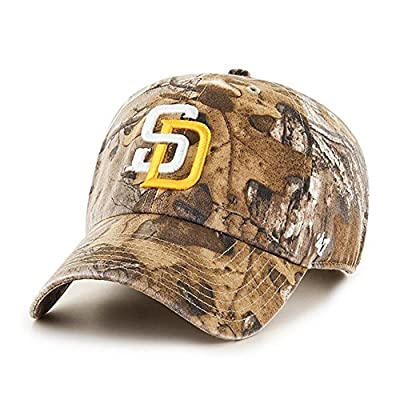 MLB San Diego Padres Clean Up '47 Adjustable Hat, Realtree Camouflage, One Size