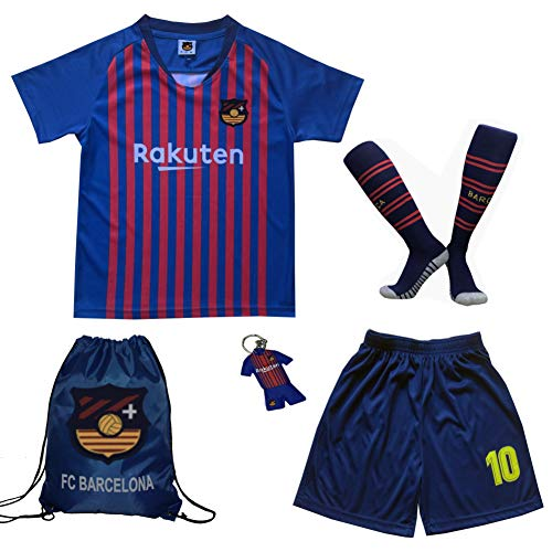 c8fe05641 BIRDBOX Youth Sportswear Barcelona Leo Messi 10 Kids Home Soccer ...