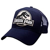 Jurassic Park movie desert camo logo Sci Fi patch trucker mesh navy caps hats