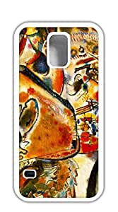 Hard Snap on Phone Case case for samsung galaxy s5 5d - Abstract piano