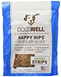 Happy Hips Chicken Jerky Strip Dog Treat, 5-Ounce For Sale