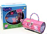 Entertainment One Peppa Pig Secret Diary Set with Metal Case Purse - Diary with Lock, Pen, Stampers, Stamp Pad and Stickers