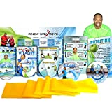 Premium, Senior Exercise DVD System: Includes: 5 DVDs + Resistance Band + Balance Exercises + Nutrition Guide + More. All Exercises are Shown Both Standing and Seated in Chair Exercise You Will Love!