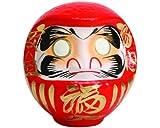 "YokohamaUSA Handmade 8"" H Red Daruma Doll for"